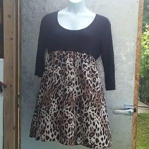 *Last Chance* Leopard print dress
